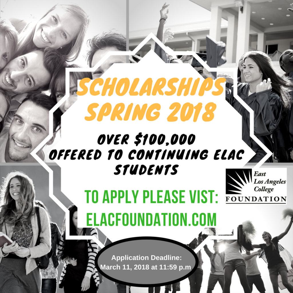 2.27.2018 Spring Scholarship